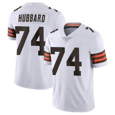 Men's Nike Cleveland Browns Chris Hubbard Vapor Untouchable Jersey - White Limited