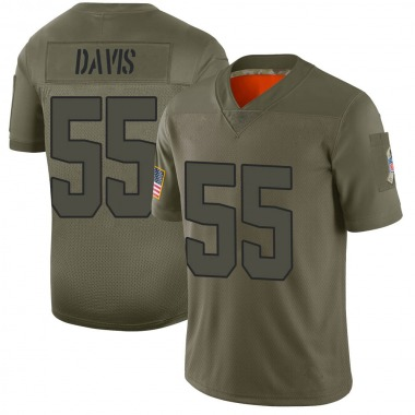 Men's Cleveland Browns Tae Davis 2019 Salute to Service Jersey - Camo Limited