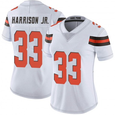 Women's Nike Cleveland Browns Ronnie Harrison Vapor Untouchable Jersey - White Limited