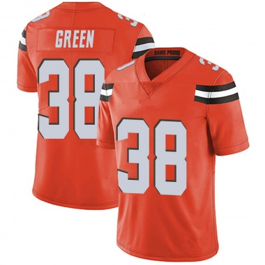 Youth Nike Cleveland Browns A.J. Green Alternate Vapor Untouchable Jersey - Orange Limited
