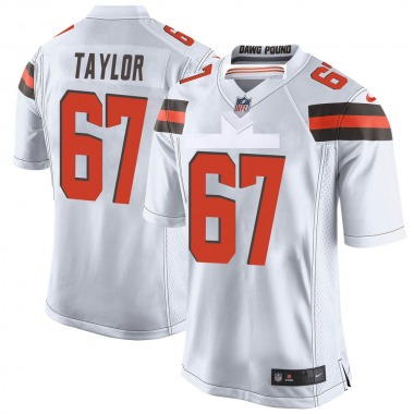 Youth Nike Cleveland Browns Alex Taylor Jersey - White Game