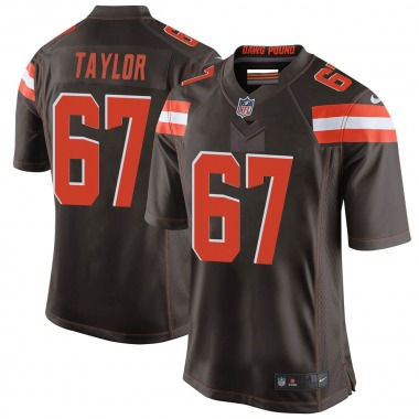 Youth Nike Cleveland Browns Alex Taylor Team Color Jersey - Brown Game
